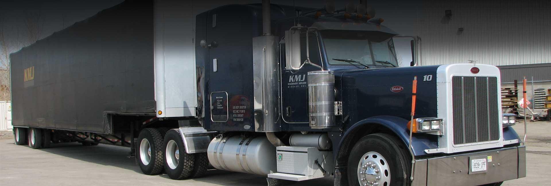 KMJ Heavy Truck Transportation, Ontario